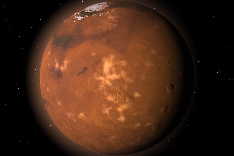 Alternate View of Mars
